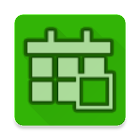 Weekly schedule planner icon