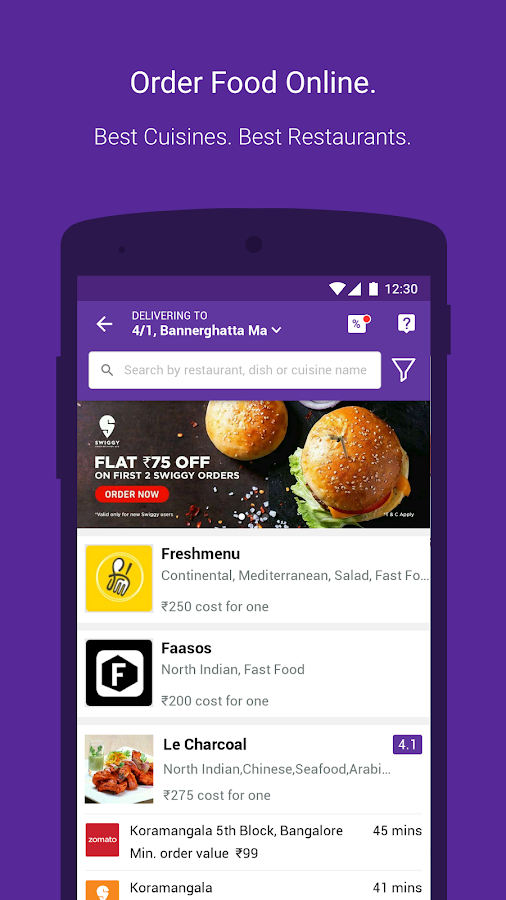 Tapzo: Cabs, Food, Recharge- screenshot