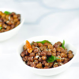 KALA CHANA (BLACK CHICKPEAS) SUNDAL - A HEALTHY SNACK