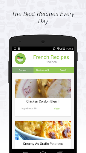 French Cuisine: Recipes