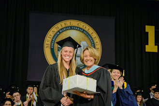 Photo: Samantha Wilson, Psychology major from New Castle, Colo., The Charles W. Havens Award  Alumni Citizenship Award