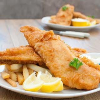 Long John Silver's Deep Fried Fish and Shrimp.
