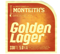 Logo of Monteith's Golden Lager