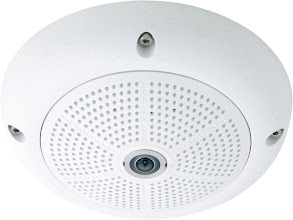 Photo: Mobotix Q24 IP camera, white