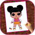 How To Draw Lol Surprise Dolls | Fans APK