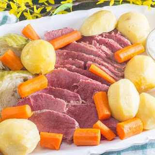 Corned Beef & Cabbage.