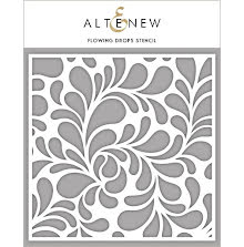 Altenew Stencil 6X6 - Flowing Drops
