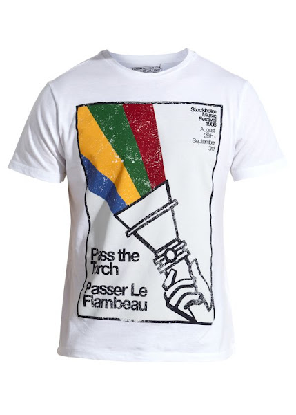 Photo: White Pass the Torch T-Shirt £12.99 http://bit.ly/III47Q