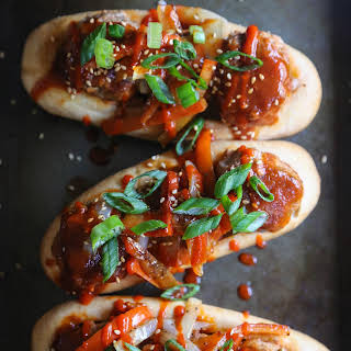 Loaded Sweet & Sour Turkey Meatball Subs.