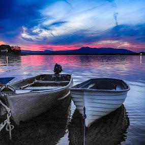 by Brenda Baird - Transportation Boats