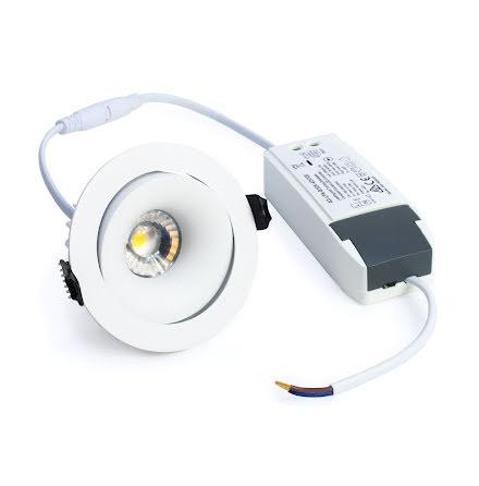 Xerolight Comfort LED Downlight 10W VIT Inkl. Driver
