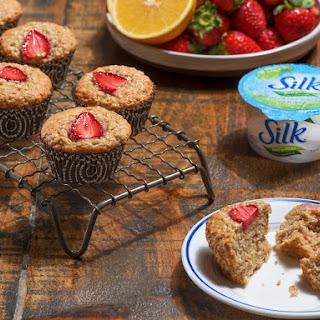 Strawberry Oat Muffins.