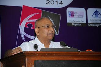 Photo: P.V. Sivaram, Automation Industry Association (AIA)