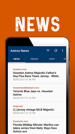 Houston Baseball News: Astros 1.0.42 screenshots 1