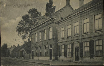 Photo: 1919 Dreef met postkantoor