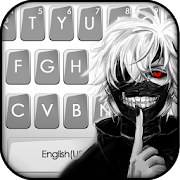 Creepy Mask Man Keyboard Theme