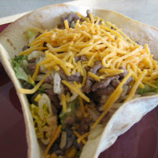 Taco Rice Salad.
