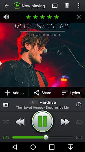 PlayerPro Music Player (Free) screenshots 2