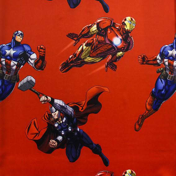 Superhjältar Mörkläggningstyg