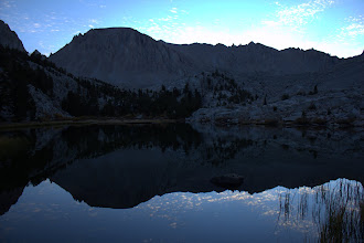 Photo: Mount Whitney from Timberline Lake