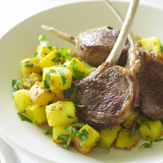 Lamb Chops with Spiced Potatoes