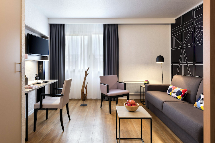 living space at Citadines Kleber Strasbourg