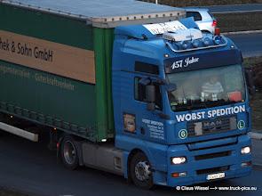 Photo: WOBST Bautzen  TGA  -----> just take a look and enjoy www.truck-pics.eu