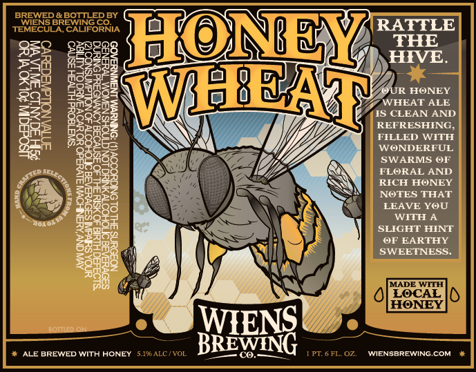 Logo of Wiens Honey Wheat