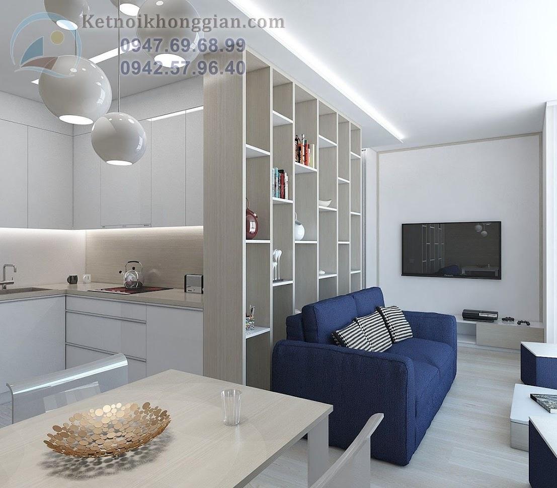 phương án thiết kế căn hộ chung cư mini 30m2 hợp lý