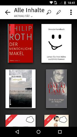android OSIANDER eBooks mit tolino Screenshot 3