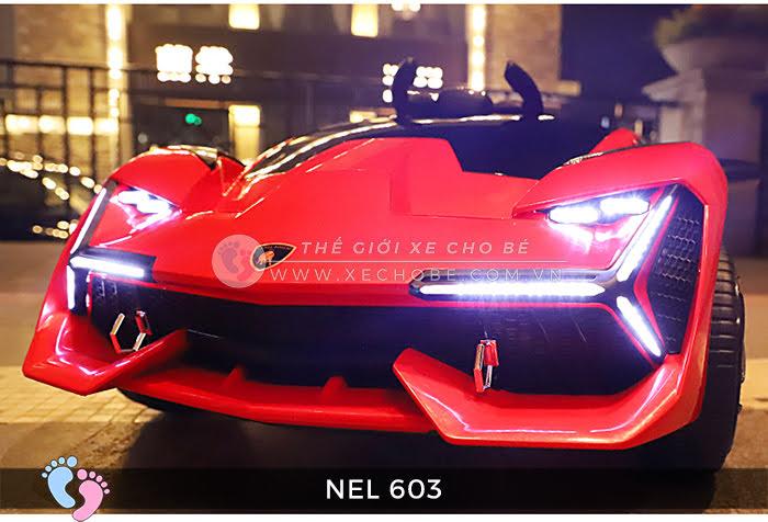 xe ô tô điện trẻ em Lamborghini NEL-603 9