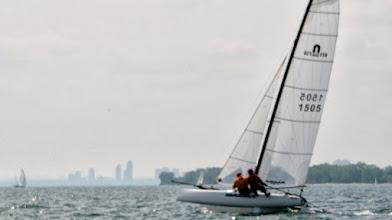 Photo: Water Rats Regatta - Tom and Ed go upwind