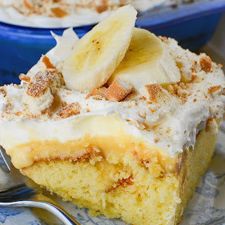Banana Pudding Lush Cake! Recipe