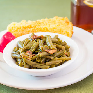 Old Fashioned Green Beans.