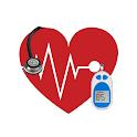 Diabetes Test My Blood Sugar Diary - BP Glucose icon