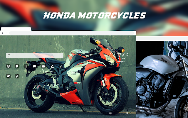 Honda Motorcycles HD Wallpapers New Tab Theme