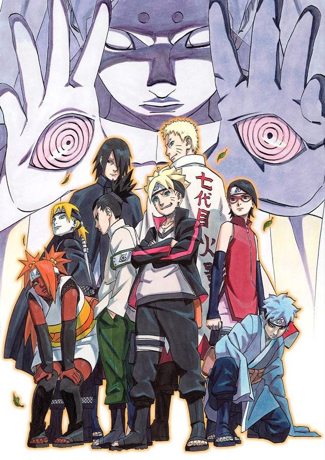 Boruto -Naruto the Movie- se lanzará el 6 de julio en DVD/BD en Japón