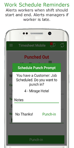 Employee Time Clock w/ GPS, Scheduling & Messaging  screenshots 5
