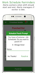 Employee Time Clock w/ GPS, Scheduling & Messaging- screenshot thumbnail