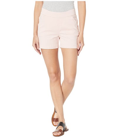 Imbracaminte Femei Jag Jeans 5quot Gracie Pull-On Shorts in Twill Conch Shell