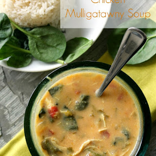 Chicken Mulligatawny Soup.