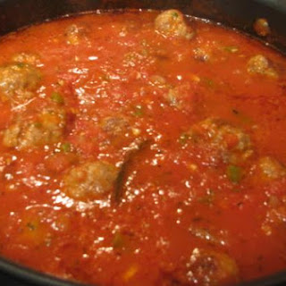 Spaghetti Sauce With Meat Balls