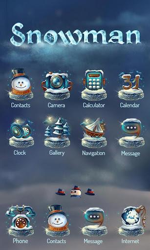 Snowman Launcher