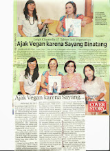 Photo: Metropolis - Magelang Express article from Magelang, Central Java, Indonesia.  December 17 2012  Here's the cover: http://www.facebook.com/photo.php?fbid=517905378232254  Here's a great online write up from the same day and another reporter: http://nasional.kompas.com/read/2012/12/18/18101977/Hidup.Lebih.Nyaman.Menjadi.Vegan  Use Google Translate for English speakers: http://translate.google.com/  There were 8 reporters from various newspapers in Jogja & Magelang, Central Java, Indonesia who interviewed me on the day about being vegan, my adventures in SE Asia and the upcoming events I was speaking and giving food demos at.