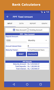 Financial Calculator India - náhled