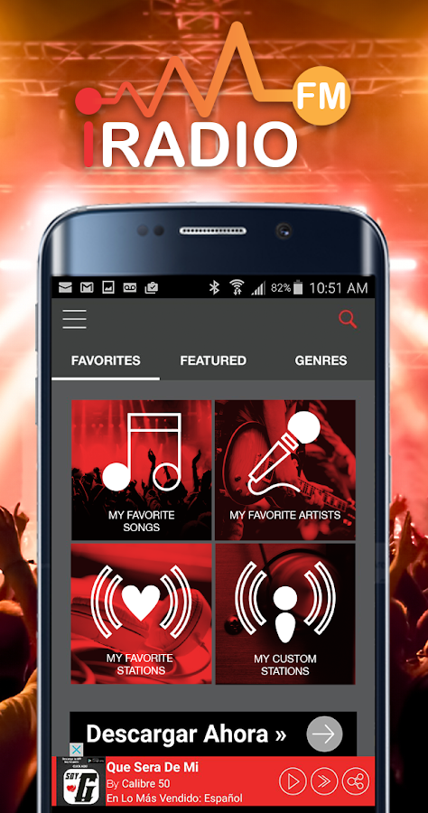 iRadio FM Music & Radio- screenshot