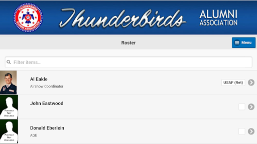 玩免費遊戲APP|下載Thunderbirds Alumni Mobile app不用錢|硬是要APP
