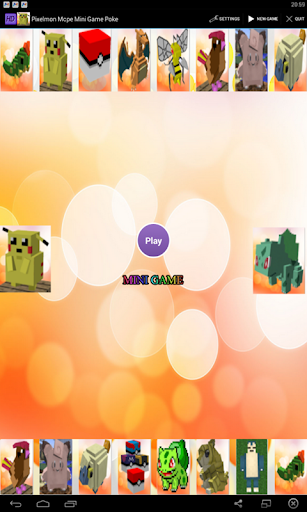 Pixelmon Mcpe Mini Game Poke