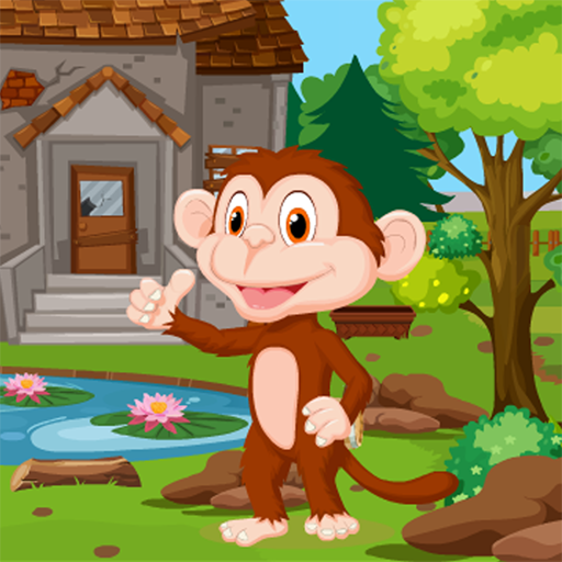 Cartoon Monkey Rescue Kavi Game-393 Android APK Download Free By Kavi Games