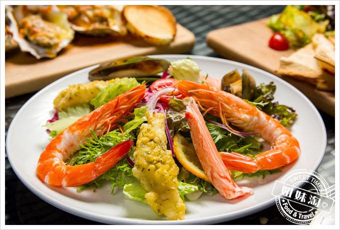 貝隆餐酒館-主廚海鮮沙拉